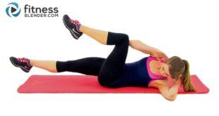 10 Minuten Bauchmuskeltraining - Fitness Blender Abs und Obliques Routine