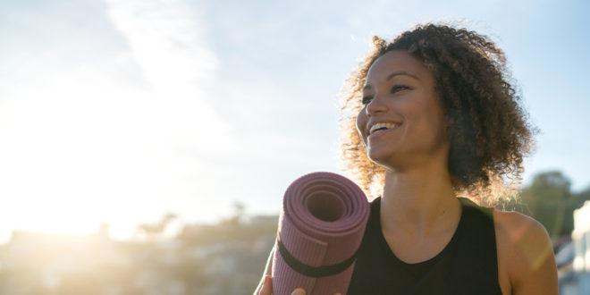Mit Yoga Energie tanken? Ja!