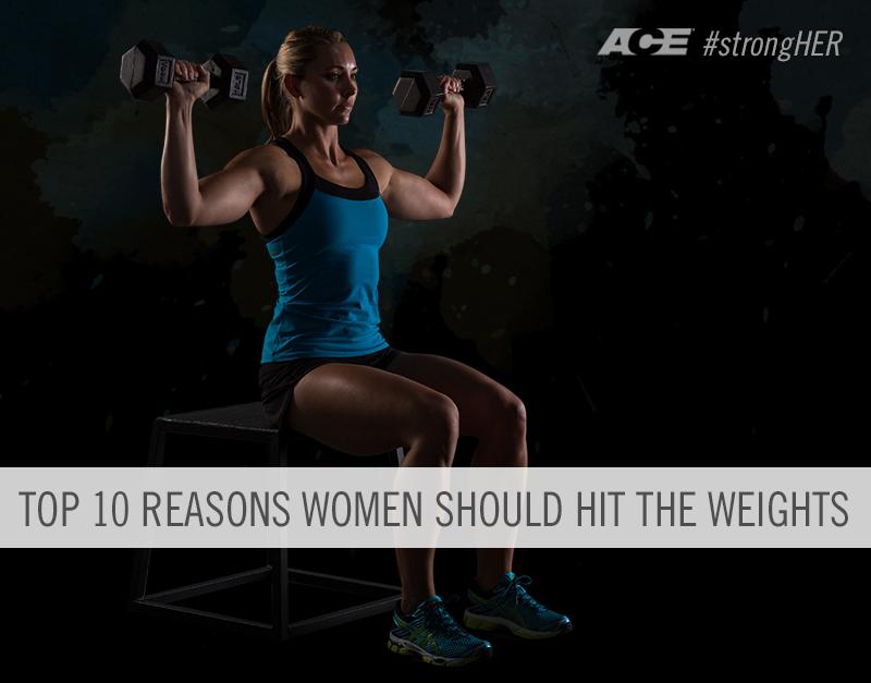 Gründe, warum Frauen Gewichte heben sollten