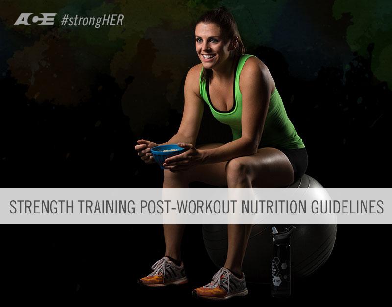 Krafttraining Ernährung nach dem Training