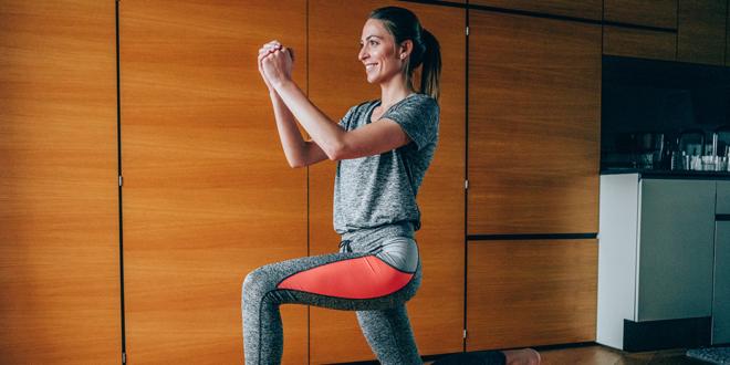 30 Minuten HIIT Workout, das Sie zu Hause machen können