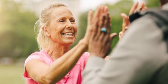 Sie sind nie zu alt, um die Vorteile körperlicher Aktivität zu genießen