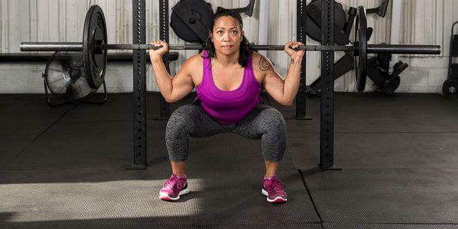 Wie man Muskeln gewinnt, indem man leichtere Gewichte hebt