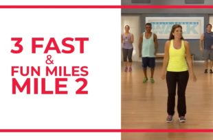 3 Fast & Fun Miles Mile 2 |  Walk At Home Fitness-Videos