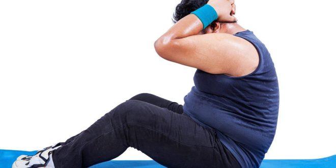 Übung zur Gewichtsreduktion, Sedentarisierung und Ernährung