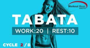 Workout-Musikquelle // TABATA-Zyklus 2/8 mit Vocal Cues (Arbeit: 20 Sekunden | Pause: 10 Sekunden)
