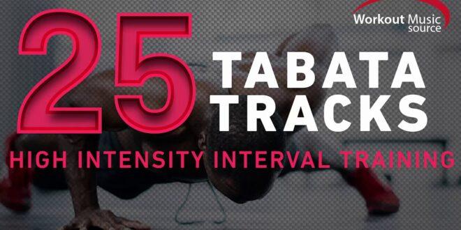 Workout-Musikquelle // 25 TABATA-Tracks (Intervalltraining mit hoher Intensität)