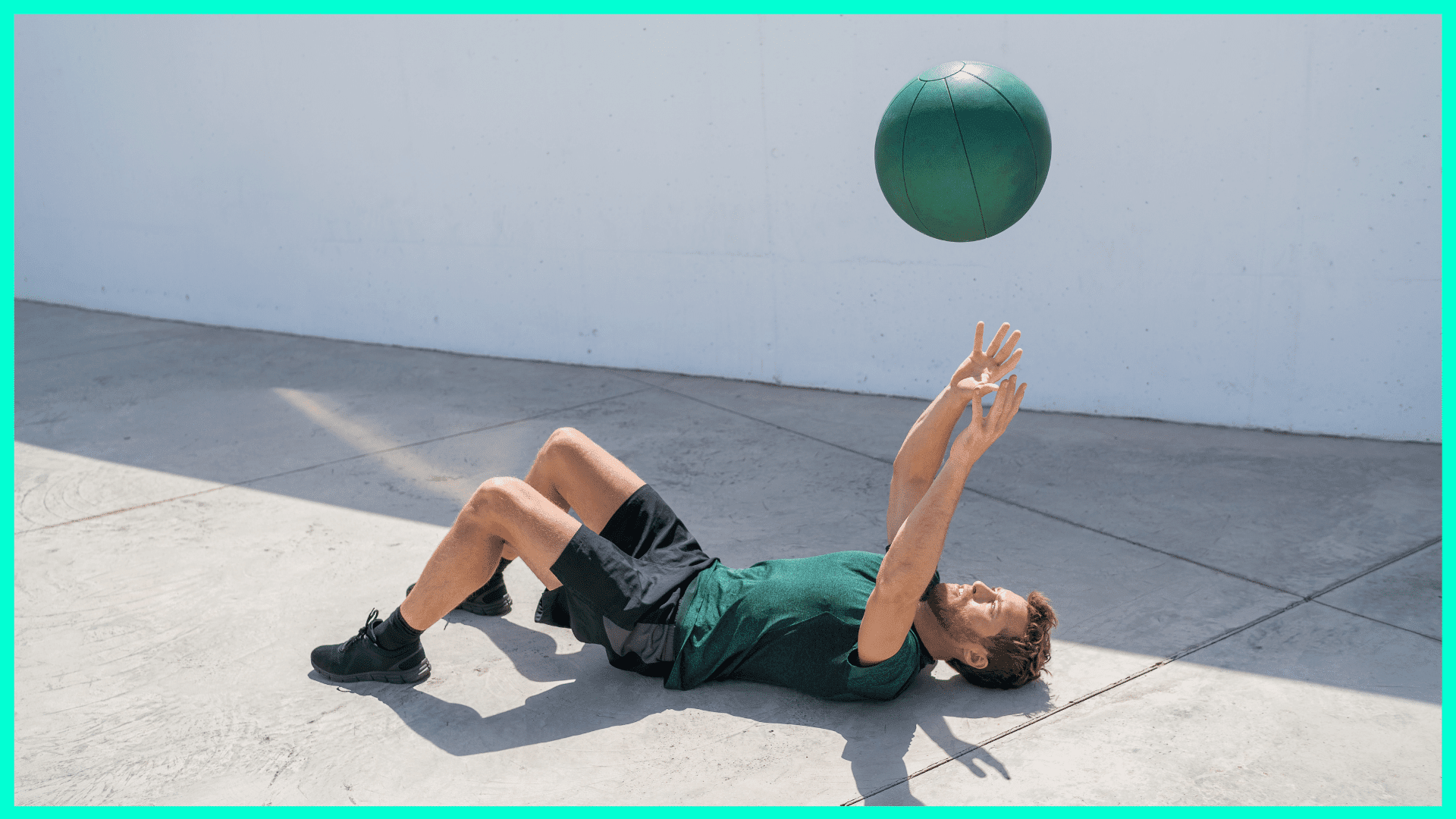 Medizinball wirft